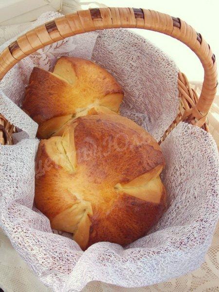австрийский пасхальный хлеб Osterpinze