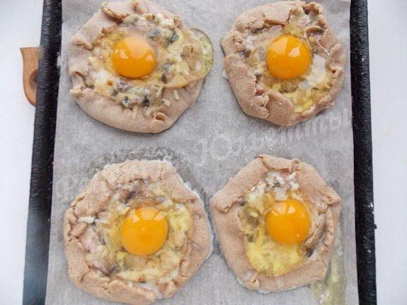 рецепт галет с яйцами