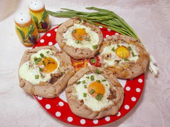 галеты с яйцом