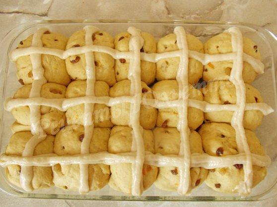 рецепт hot cross buns