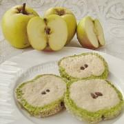 печенье зелёное яблоко со шпинатом