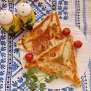 ёка с сыром и яйцом