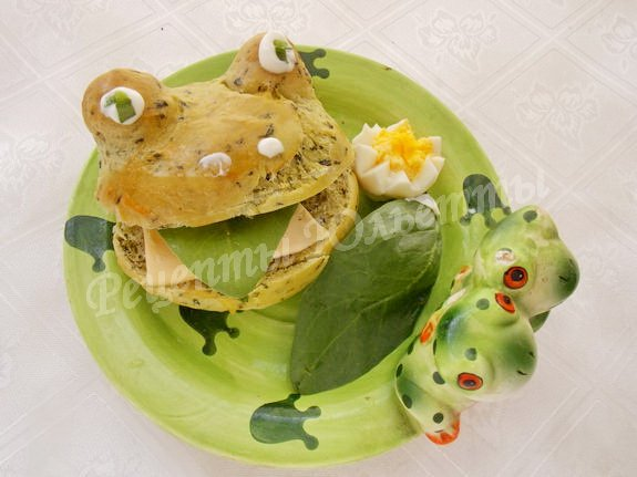 прикольные булочки жабки