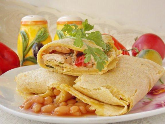 рецепт мексиканских буррито