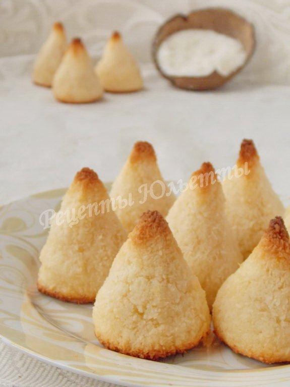как приготовить печенье кокосанка дома