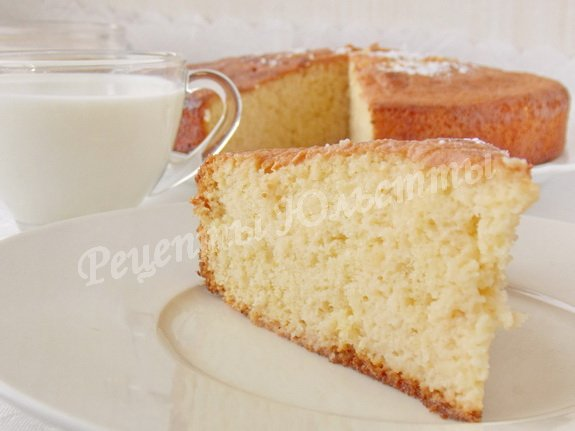как приготовить пирог три молока