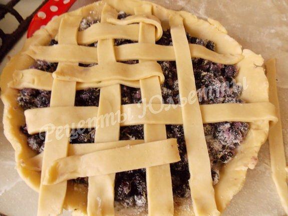 как сделать плетёный пирог