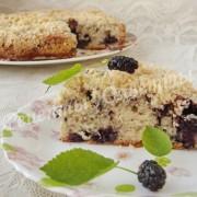 шелковичный пирог