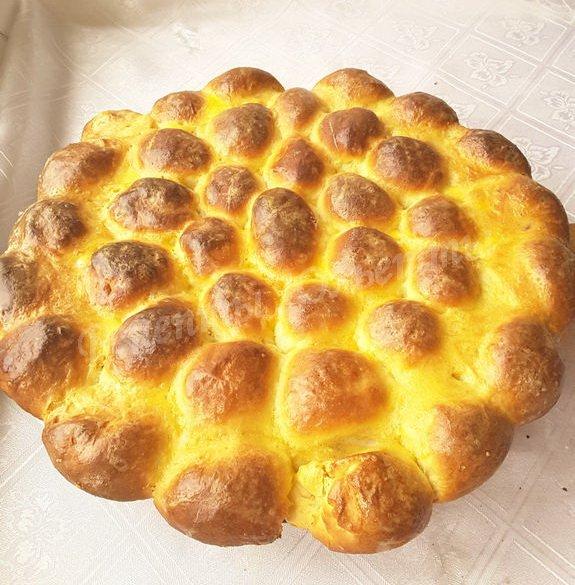 пирожки дружная семейка с вишней и клубникой