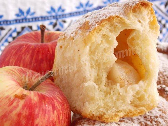 рецепт пирожков с яблоками