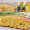 кукурузный пирог с ветчиной