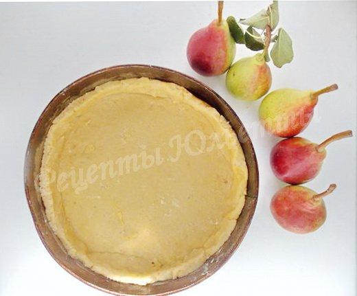 рецепт сметанной заливки для пирога с яблоками
