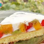 Торт Безе со сливками