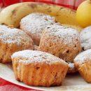 яблочные кексы с бананом
