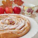яблочный пирог чайная роза