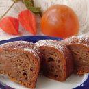 рецепт кекса с хурмой