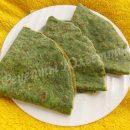рецепт блинчиков со шпинатом