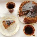 шоколадный медовый торт спартак