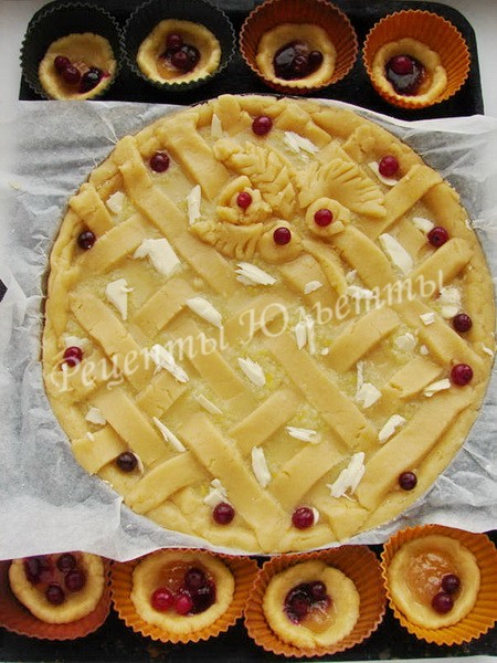 как испечь лимонный пирог