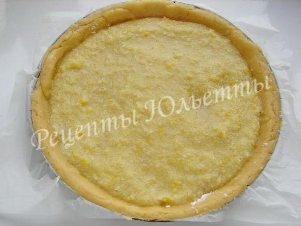 как приготовить пирог с лимонной начинкой