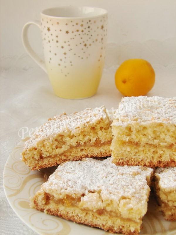 как приготовить тёртый пирог с лимоном